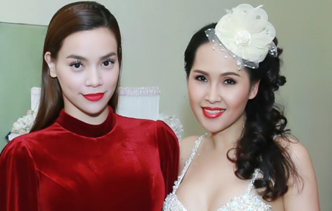 Hà Hồ mặc jumpsuit ngắn cũn bên 'gái nhảy' Minh Thư