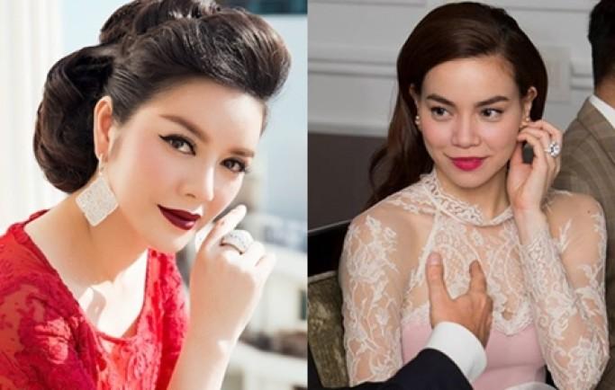 Những món trang sức kim cương của sao Việt