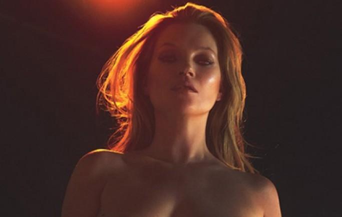 Kate Moss chụp ảnh khỏa thân ở tuổi 43
