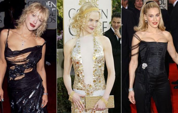 Những chiếc váy 'thảm họa' qua các mùa Quả Cầu Vàng