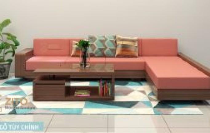 Bạn có biết gì về sofa gỗ tự nhiên góc