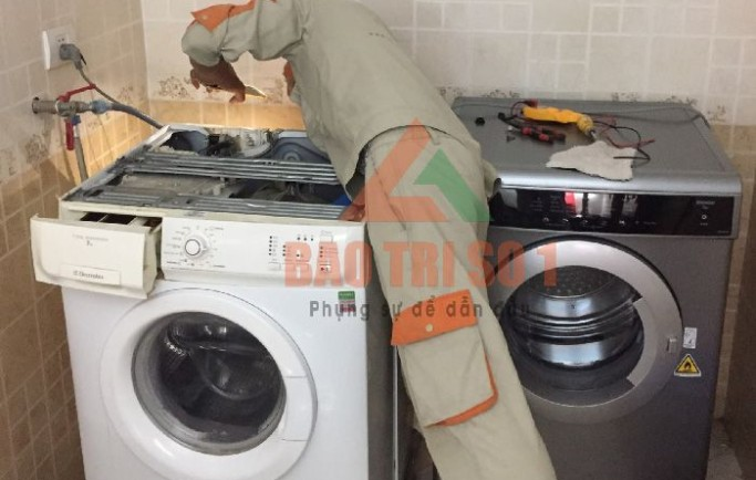 Bảo Trì Số 1 nhận sửa máy giặt lỗi không vào nước an toàn