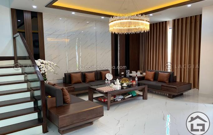 Bí quyết giải quyết vết rách cho sofa gỗ cao cấp bọc da thật cho chung cư hiệu quả