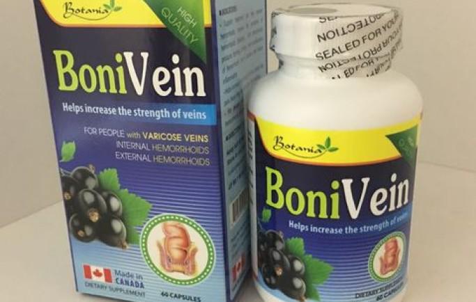 Bonivein của Canada giúp ngăn chặn biến chứng của suy giãn tĩnh mạch