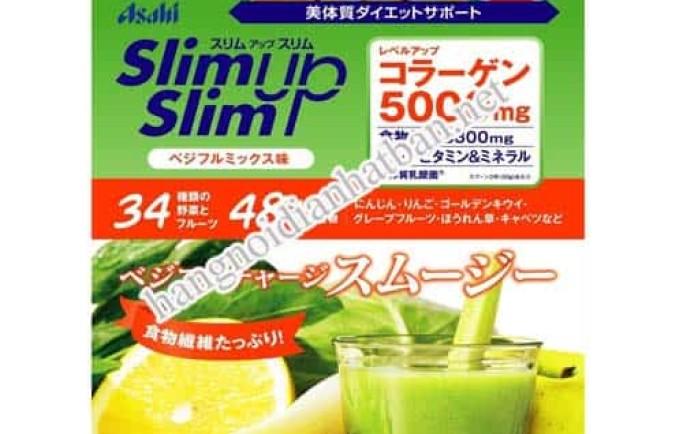 Bột giảm cân asahi slim up slim của Nhật Bản liệu có tốt như bạn nghĩ ?