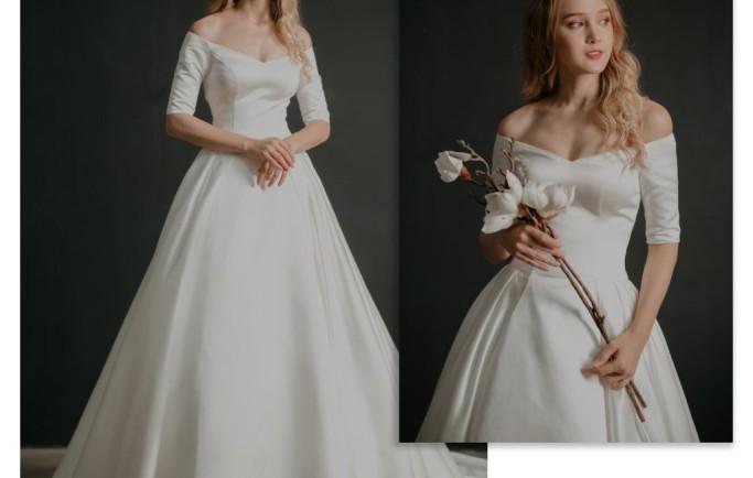 BST áo cưới đơn giản, tinh tế, sang trọng cho mùa cưới 2018