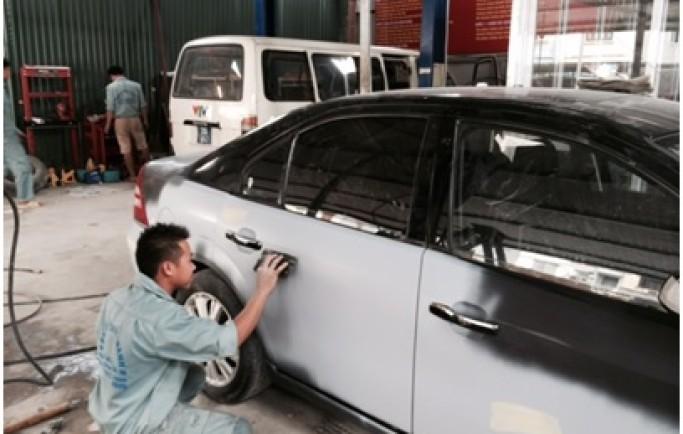 Các điểm cần chú ý khi sơn lại xe ô tô