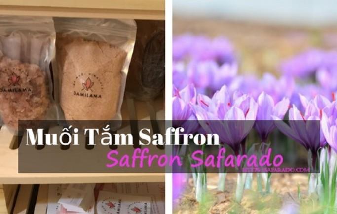 Các sản phẩm làm đẹp da từ thiên nhiên nhụy hoa nghệ tây bạn cần