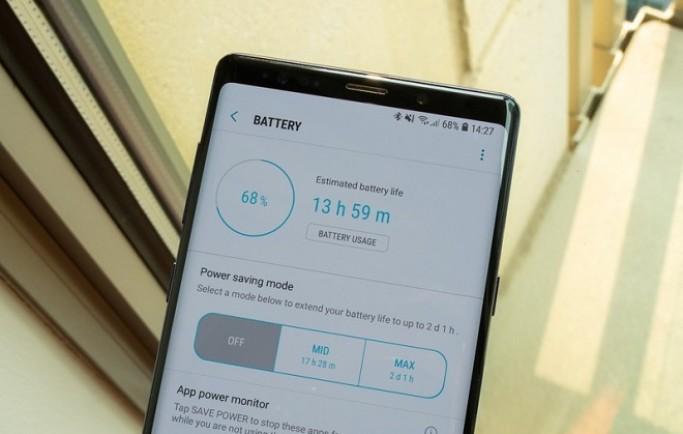 Cách tăng tuổi thọ pin đơn giản cho Samsung Galaxy Note 9