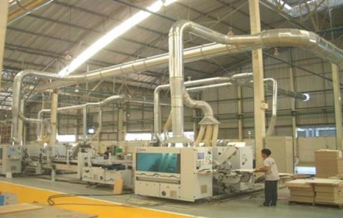 Cấu tạo của hệ thống xử lý bụi công ty gỗ