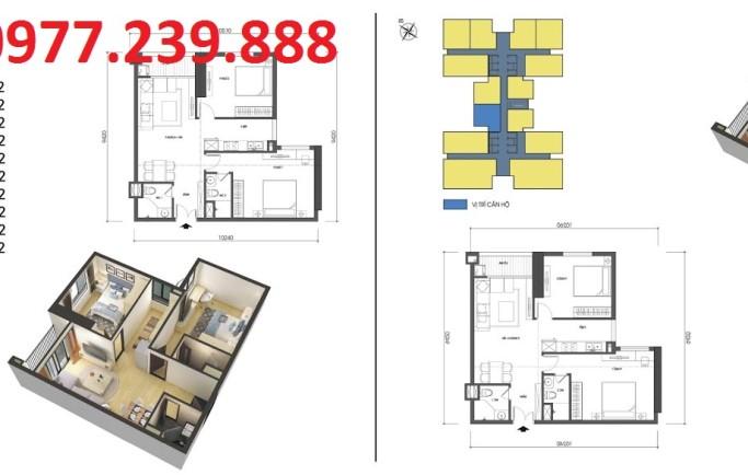 Chung cư Housinco Grand Tower có 14 căn hộ trên một sàn