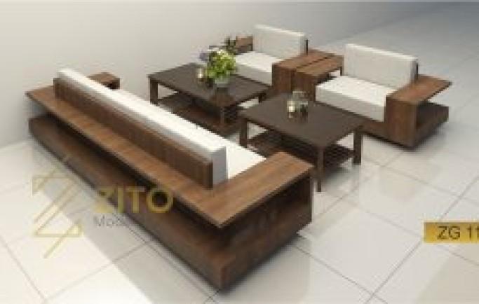 Có nên dùng màu sofa tương phản với màu nền của phòng khách?