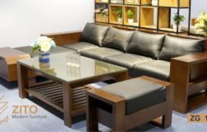 Cùng điểm các mẫu sofa gỗ Zito!