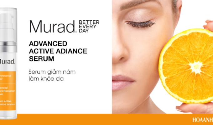 Da trắng đều màu với Murad Advanced Active Radiance Serum