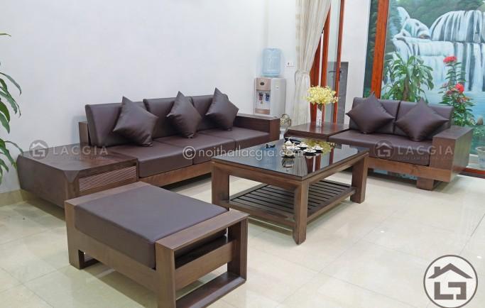 Địa chỉ mua sofa gỗ giá rẻ, uy tín cho phòng khách tại Hà Nội?