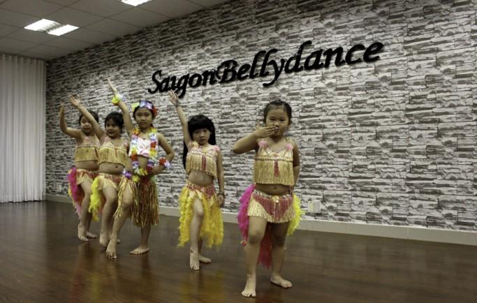 Địa chỉ những phòng tập múa bụng chất lượng ở Hồ Chí Minh