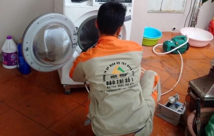 Dịch vụ chuyên sửa máy giặt electrolux tại nhà hà nội uy tín