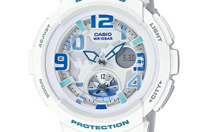 Đồng hồ Casio Baby-G BGA-190-7BDR trẻ trung dành cho cô nàng