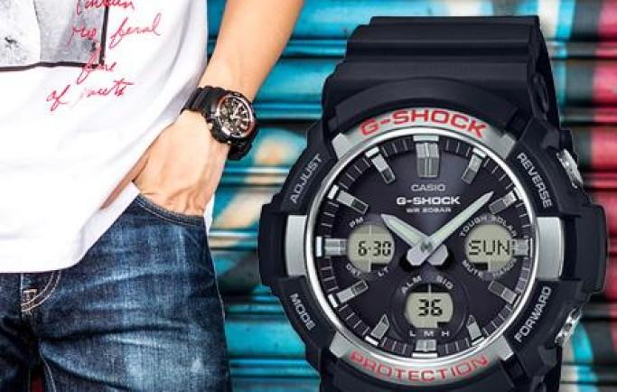 Đồng hồ Casio G-SHOCK GAS-100-1A mạnh mẽ năng cá tính