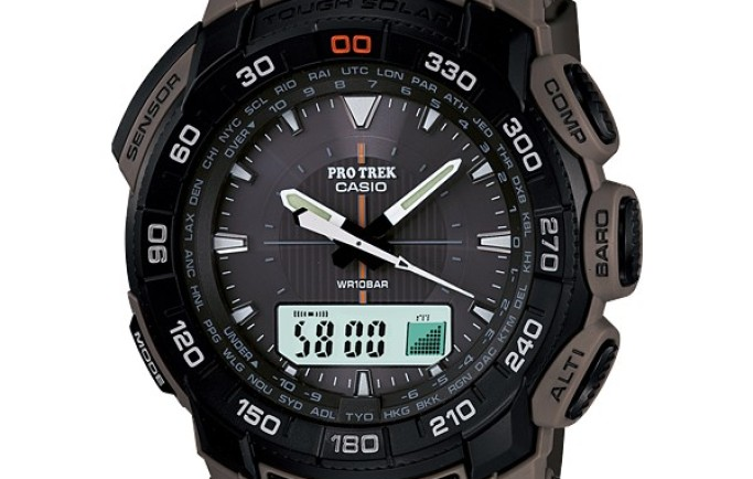 Đồng hồ Casio PRG-550B-5D phong cách mới kiểu dáng mới với màu sắc đặc trưng