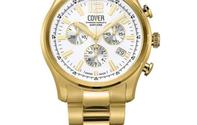 Đồng hồ Cover CO135.03 6 kim mạ vàng cao cấp thu hút nhiều người