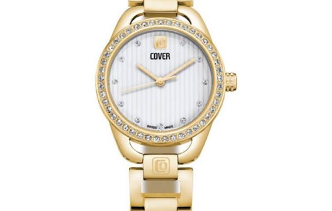 Đồng hồ Cover CO167.03 mạ vàng sang chảnh