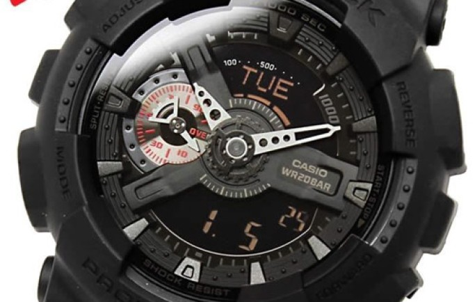 Đồng hồ nam Casio G-Shock GA-110MB-1ADR  khám phá mới cho các chàng trai