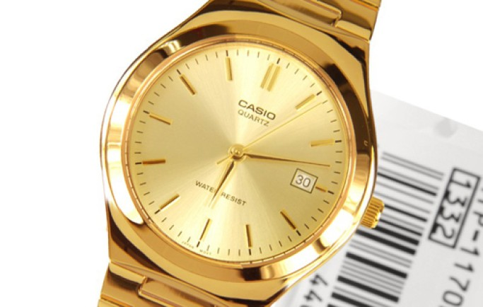Đồng hồ nam Casio MTP-1170N-9ARDF mạ vàng cao cấp