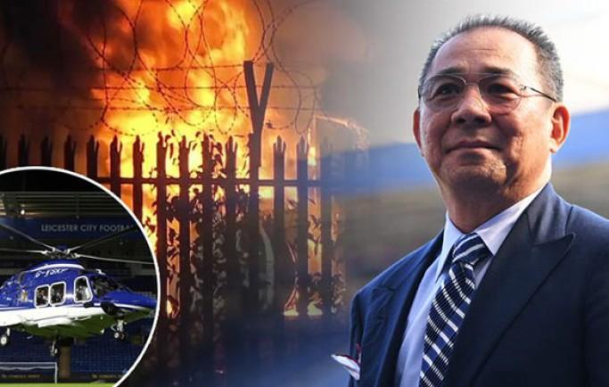Fan 8live đưa tin:Leicester xác nhận chủ tịch người Thái Lan đã tử nạn trong vụ rơi trực thăng
