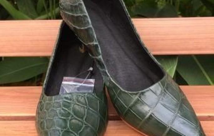 Giày Tây Đà Điểu DD09 Kiểu Vây Chân Nâu Đen giá 4TR500