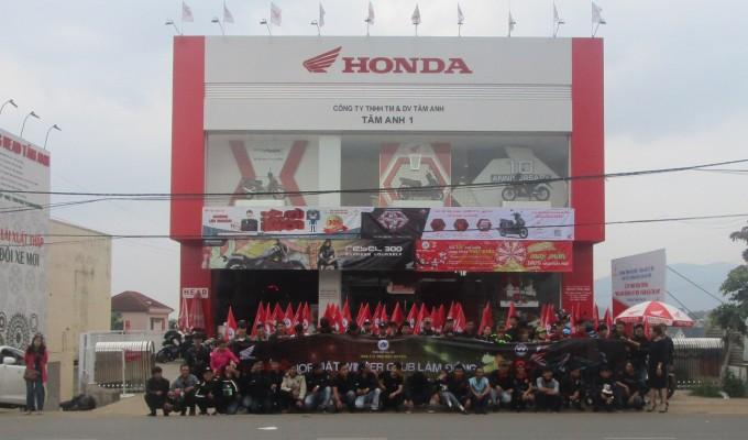 Hệ thống HEAD Tâm Anh – Cửa hàng xe máy và dịch vụ do Honda ủy nhiệm tại Lâm Đồng