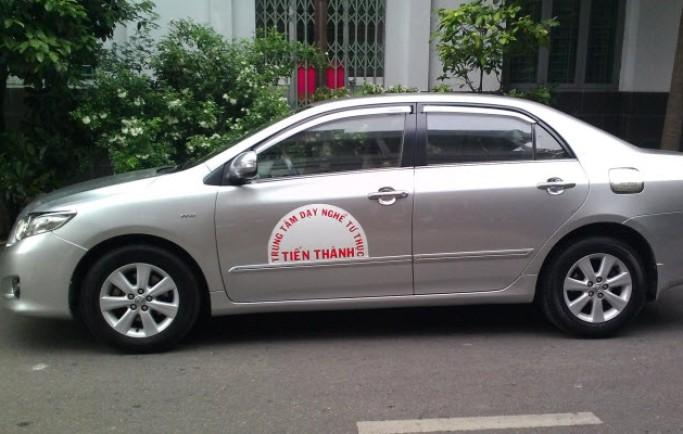 Học lái xe ô tô quận Bình Thạnh uy tín - đậu cao