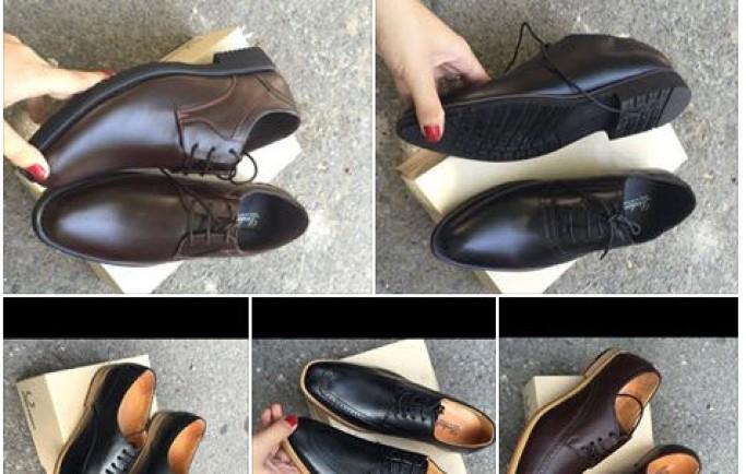 Khi mua giày nam phái mạnh chị em nên chú ý