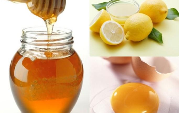 Làm trắng da bằng trứng gà và mật ong với hỗn hợp khác