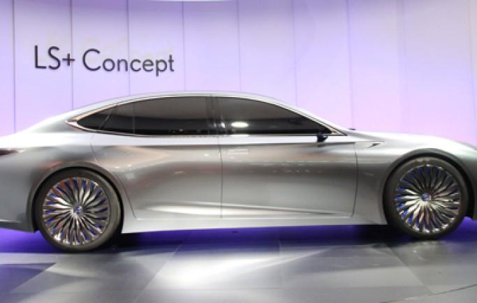 Lexus LS+ concept - cạnh tranh xe sang Đức bằng công nghệ