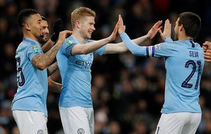 Man City đi vào lịch sử bóng đá Anh