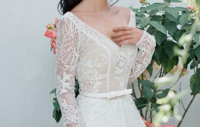 Mẹo chọn váy cưới cho cô dâu có chiều cao khiêm tốn