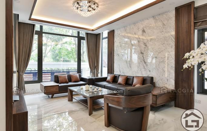 Mua sofa gỗ đệm da tại Nội Thất Lạc Gia có đắt không?