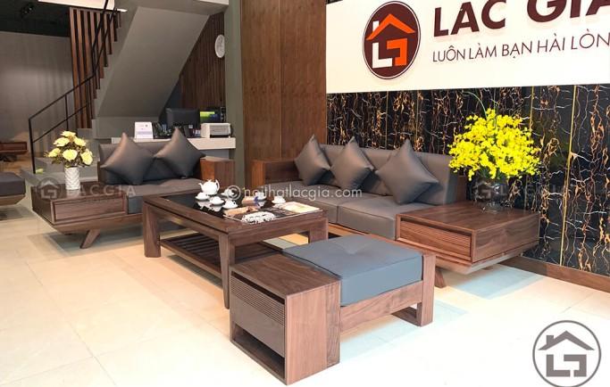 Mua sofa gỗ tự nhiên giá rẻ cho phòng khách cần lưu ý những gì?