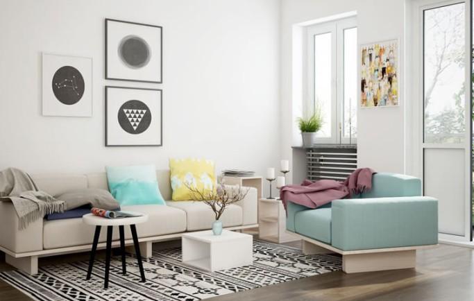 Nên sử dụng sofa da thật hay sofa da giả cho chung cư?