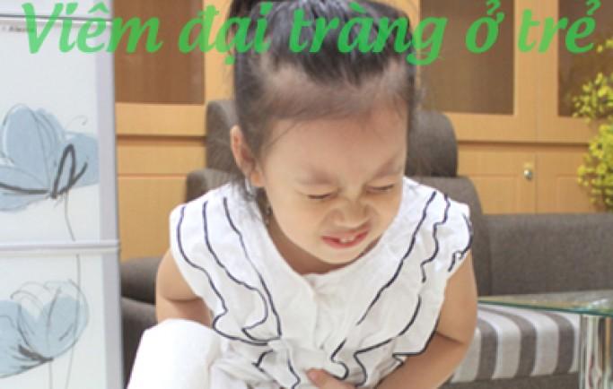 Nguyên nhân và biểu hiện viêm đại tràng ở trẻ em