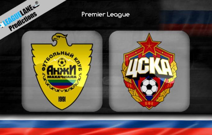 Nhận định Anzhi Makhachkala vs CSKA Moscow, 22h00 ngày 19/10:  Giải Ngoại Hạng Nga 2018-19