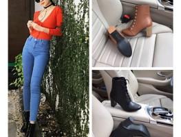 Nhấn nhá style ngày thu mang boot nhẹ nhàng