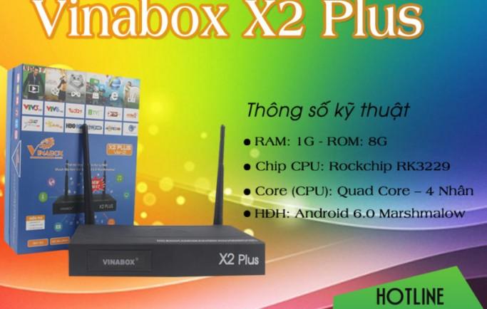 Nhận xét Android TV Box Vinabox X2 Plus - 1G ram - 8G Rom