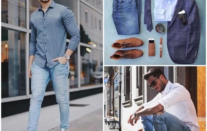 Những cách phối đồ cho nam giới với áo sơ mi cực đẹp