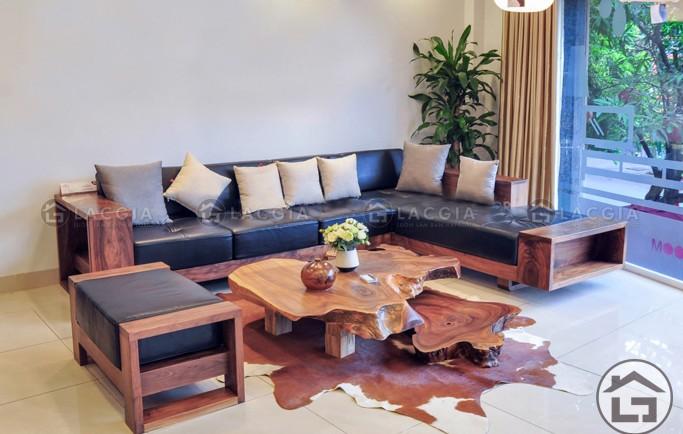 Những tiện ích của một số mẫu sofa gỗ tại Lạc Gia mang tới cho phòng khách