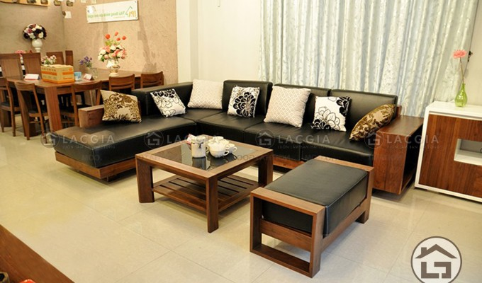 Những ưu điểm nổi bật của bàn ghế phòng khách gỗ tự nhiên
