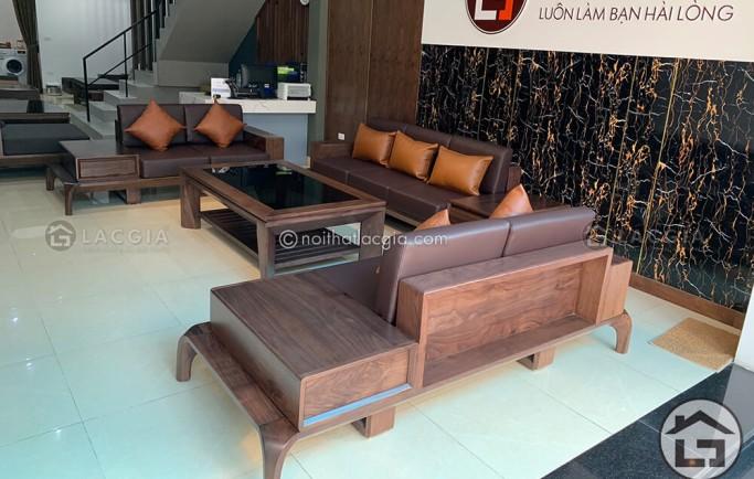Những yếu tố quyết định đến vẻ đẹp của bộ Sofa Gỗ cho văn phòng