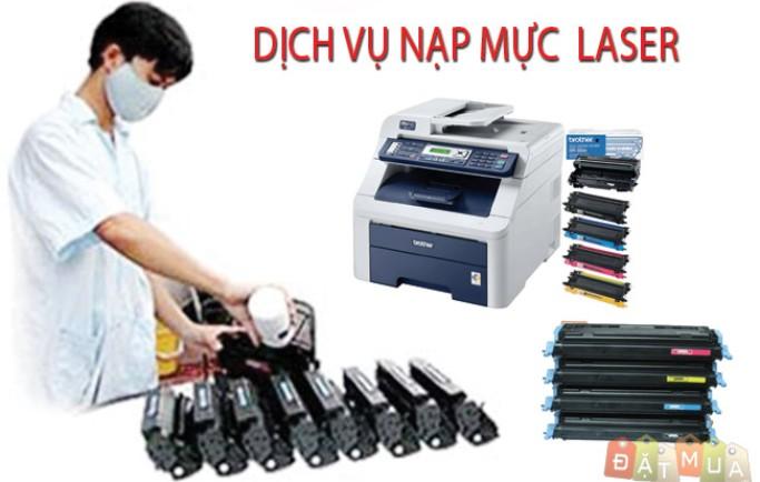 Ở đâu nhận đổ mực máy in laser màu tốt giá rẻ tại Sài Gòn