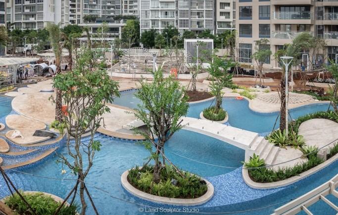 Palm Garden quận 2 - Đường nét hoa văn tinh tế